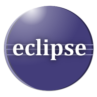 My take on the Eclipse IDE logo by jecw