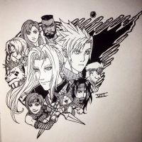FF7 Remake!!! by allaboutnothing