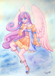 Princess Flurry Heart watercolours by Auriaslayer