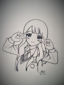 ANIME DRAWING by fei16