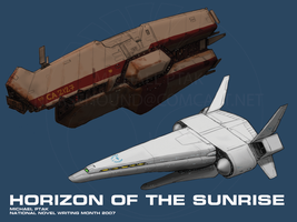 Horizon of the Sunrise Cruiser by Norsehound