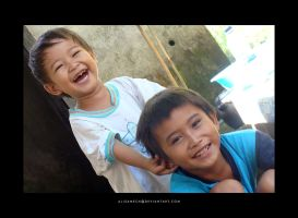 Children Laughing by farlydapamanis