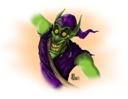 Green Goblin by JohnVichlenski