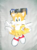 Tails 12'' Modern Plushie by BoomSonic514