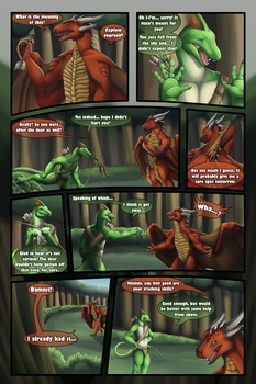 Commission - On The Hunt - Page 4/5 by FireDragon97