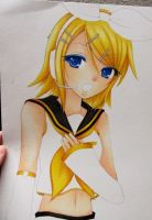WIP - Rin Kagamine by AzureLey