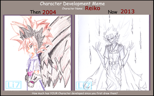 Character Development: reiko by UltraLiThematic