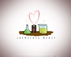 The chemicals react by american18076