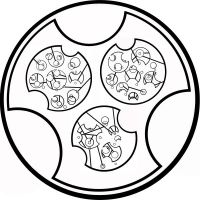 Circular Gallifreyan: I Stole a Time Lord by WSmack
