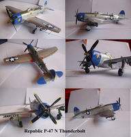 Republic P-47N Thunderbolt by Teratophoneus