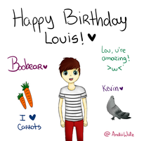 Happy Birthday Louis! by AndiiGrr