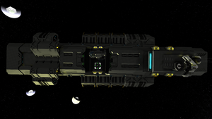 CIF Freighter top (Refit) by Dimcreaper