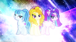 De Dazzlings - Wallpaper by AntylaVX