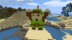 Minecraft Pixel Art Link by Kamiye12