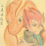 Lance and Dragonite Sticky Note by Hinami
