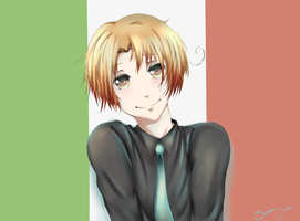 Hetalia:North Italy by Sasako