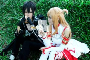 Lunch Time With Asuna by ahiru27