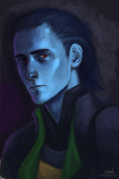 Young Loki Portrait by emengel