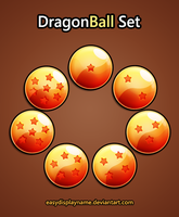 Dragon Ball Set by easydisplayname