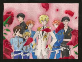 Ouran Police by DegasClover