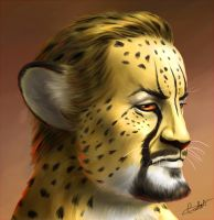 Cheetah Master Paiting by MistressAinley