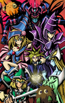 Yu-Gi-Oh! Duel Monsters Colored by skytabula