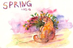hello spring! by ThePyf