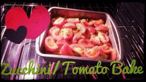 Zucchini/Tomato Bake by Prince5s