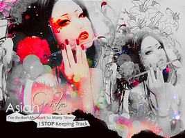 Asian Geisha Wallpapers by saredGfx