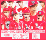 Luhan (EXO) - PACK PNG#01 by JeffvinyTwilight