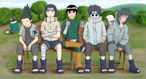 The boys of Konoha by Kairi-Moon
