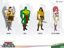 Classic Pinoy Superheroes III by antworksdigital