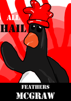 All Hail Feathers McGraw by lordvipes