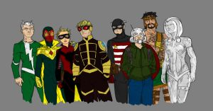 The Mighty Avengers by SEELE-02