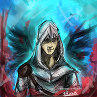 Altair - Assassin's Creed by Elilian
