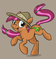 MLP OC - Fossil Fizz (2) by sophiecabra