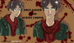 Survey Corpse Eren by Kimchimichi