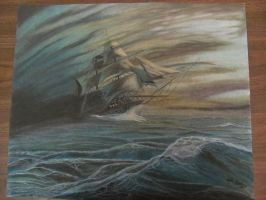 Ghost ship-The Flying Dutchman by Digg409