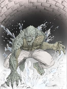 Killer Croc by MJZ-Studios