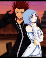 Axel and Seaca by annria2002