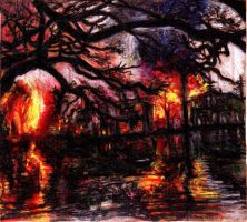 Fire in the Garden District by hippie-girl