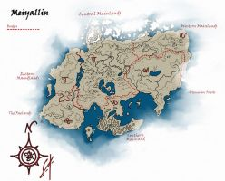 AE: Meiyallin Map, the Mainland by meridianskies