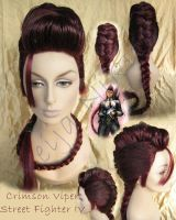 Crimson Viper Wig Commission by VNCostumes