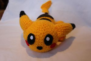 I made a lazy Pikachu! by Tessa4244