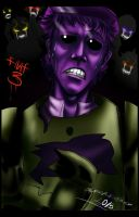 FNAF 3 purple guy by SuperEvilMan