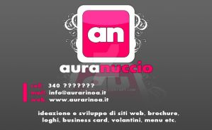 New Business Card by AuraRinoa