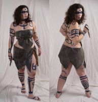 Woad Warrior  19 by lindowyn-stock