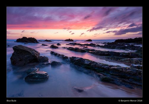 Blue Bude by henroben