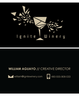 Business card design by Icarus-Syndrome