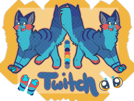 Twitch Reference sheet (REQ.) by Flea-Bites